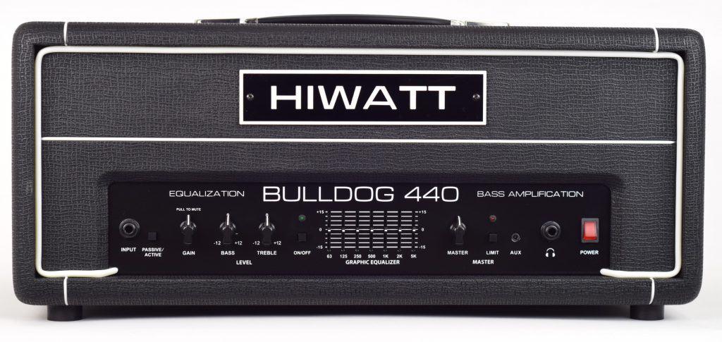 amplificatore per basso elettrico hiwatt bulldog 440