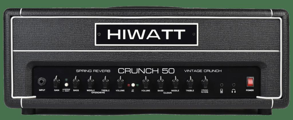 amplificatore per chitarra elettrica hiwatt crunch 50