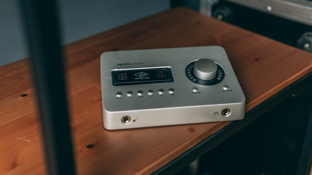 scheda audio USB Universal Audio Apollo Solo
