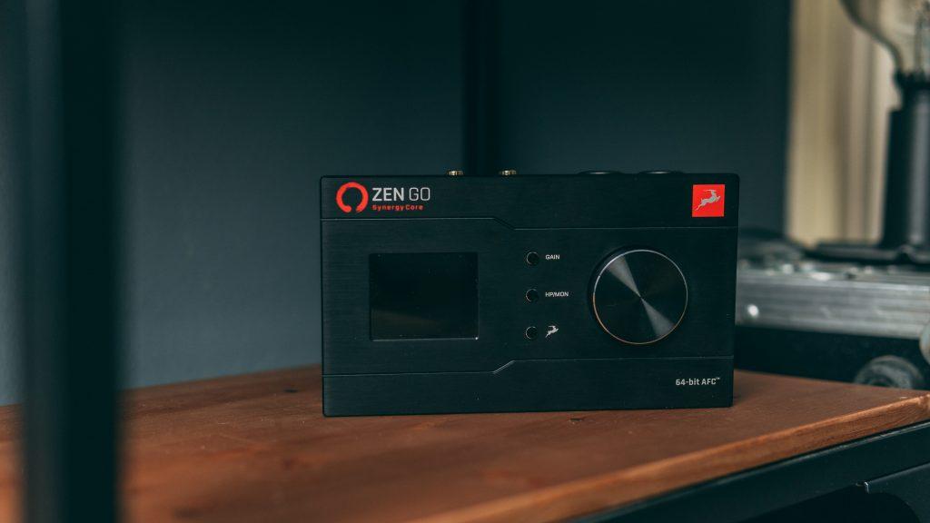 scheda audio USB Antelope Zen Go