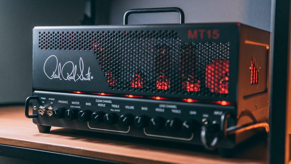Testata amplificatore rock per chitarra Paul Reed Smith MT15 Mark Tremonti