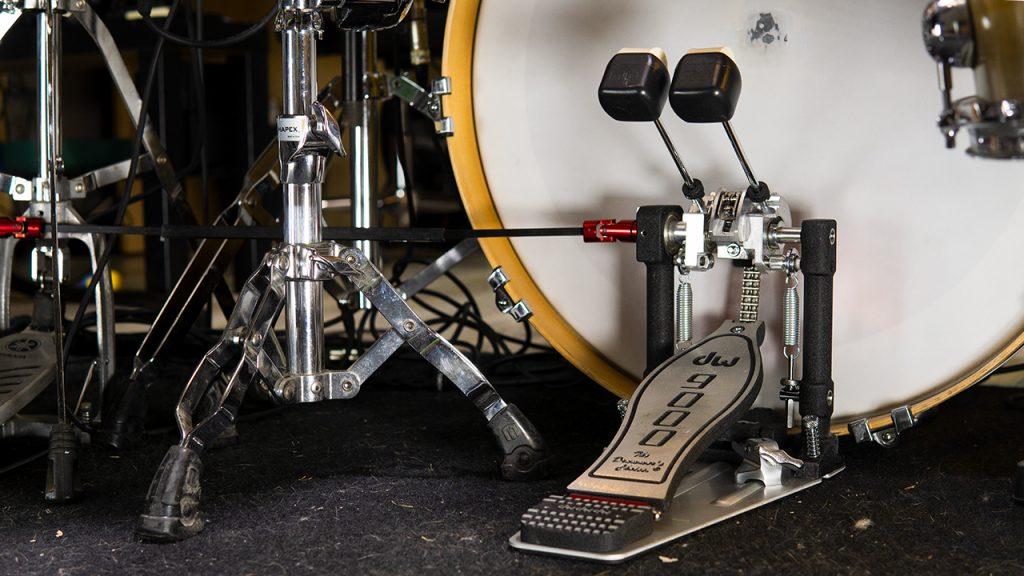 doppio pedale per batteria DW Drums 9002