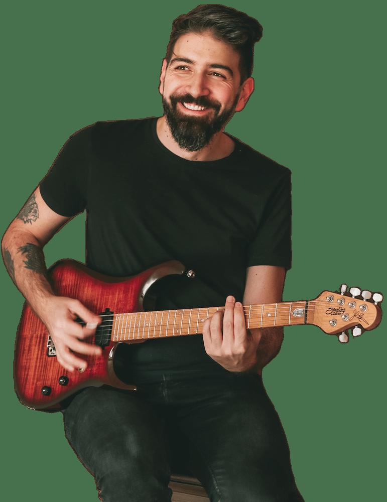 Corso chitarra elettrica lezioni gratuite chitarrista gastube